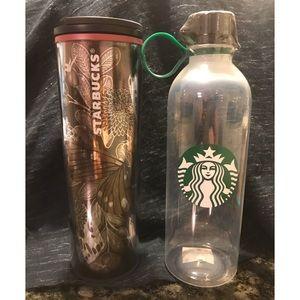 *NWT* Starbucks Water Bottle & Travel Mug/Tumbler